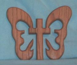 Legend of the Butterfly cross