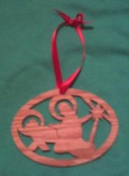 Mary and baby Jesue ornament